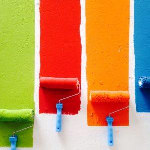 Kleine klusjes en klein schilderwerk in huis